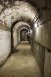 Tunel pod tamą Obrazy Stock