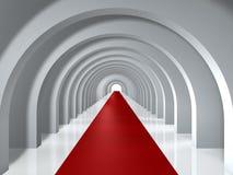 tunel przestrzeni Obraz Royalty Free