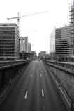 tunel ruchu Zdjęcie Royalty Free