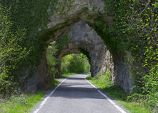 Tunel vägtur Arkivfoto