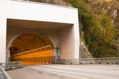 Tunel w skale Obrazy Royalty Free