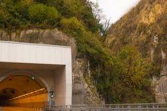 Tunel w skale Fotografia Stock