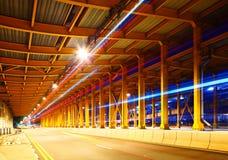 Tunel z ruchu drogowego śladem Obraz Stock