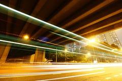 Tunel z ruchu drogowego śladem Zdjęcie Royalty Free