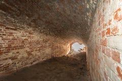 Tunell im Fort Lizenzfreie Stockfotos