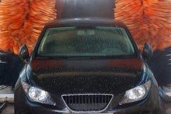 Tunelowa Samochodowego obmycia maszyna Zdjęcie Royalty Free