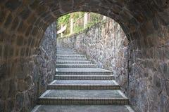 Tunelowi schodki Obrazy Stock