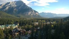 Tunelowy halny Banff Obrazy Royalty Free