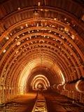 tunelowy metro Zdjęcia Royalty Free