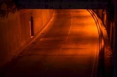 Tunelowy ruchu drogowego tunel Fotografia Royalty Free