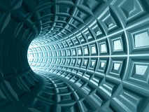 Tunelowy siatki tło ilustracja wektor