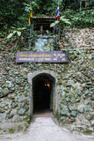 Tunelowy wejście Zdjęcia Royalty Free