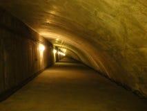 Tunelowy wnętrze Obraz Royalty Free