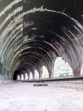 Tunels de train dans Atoyac, Veracruz, México Images stock