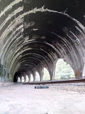 Tunels of train in Atoyac, Veracruz, México Stock Images