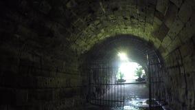 Tunelu lub przejścia sposób wśród Intramuros izolującego miasta zbiory