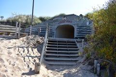 Tunelu Parkowy Wydmowy pięcie Zdjęcia Stock