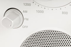 Tuner par radio de FM/AM Images stock