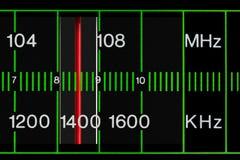 tuneru radiowy rocznik Obrazy Royalty Free