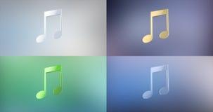 Tunes 3d Icon Royalty Free Stock Photo