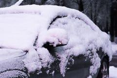 Tunes snow cars Stock Photos
