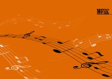 Tunes with text. Vector. Art Stock Images