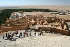 Tunesië Chebika Royalty-vrije Stock Afbeeldingen