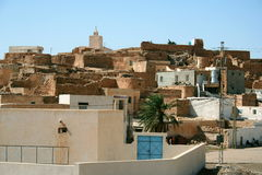 Tunesië Matmata Royalty-vrije Stock Foto's