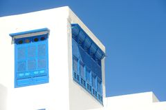 Tunesië. Sidi Bou Said Stock Foto's