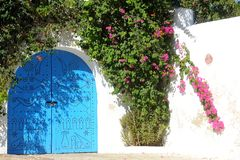 Tunesië. Sidi Bou Said Royalty-vrije Stock Afbeelding