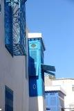 Tunesië. Sidi Bou Said Royalty-vrije Stock Afbeeldingen