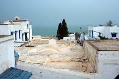 Tunesië Sidi Bovengenoemde Bou Stock Foto
