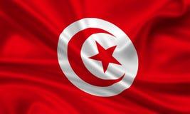 tunesia флага Стоковые Изображения RF