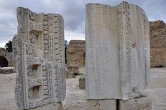 Tunesia: Världsarvet Karthago med Nekropolisen royaltyfria foton