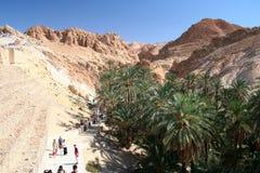 Tunesien Chebika Stockbild