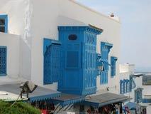 Tunesien Sidi Bou besagt lizenzfreie stockbilder