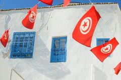 Tunesien. Sidi Bou Said Lizenzfreie Stockbilder
