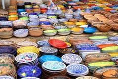 Tunesisch aardewerk Stock Afbeelding