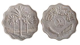 Tunesisch muntstuk stock fotografie