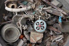 Tunesische antieke winkel Royalty-vrije Stock Fotografie