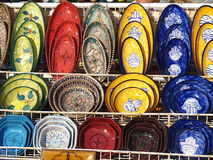 Tunesische ceramica Stock Foto's