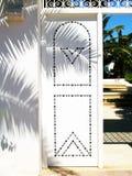 Tunesische deur. Royalty-vrije Stock Afbeeldingen