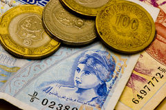 Tunesische Dinars Stock Afbeelding