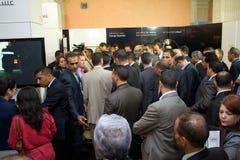 Tunesische Eerste minister die ICT4ALL opent Royalty-vrije Stock Foto