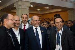 Tunesische Eerste minister die ICT4ALL opent Royalty-vrije Stock Fotografie