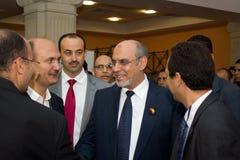 Tunesische Premierministeröffnung ICT4ALL Stockbild