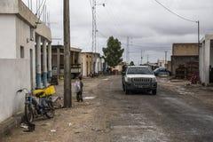 Tunesische Straße Stockfotografie
