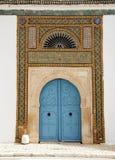 Tunesische Tür Stockbild