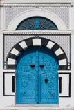 Tunesische Tür Lizenzfreie Stockfotos