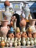 Tunesische Tonwaren Stockfoto